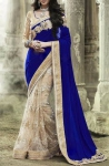 Velvy Blue Saree