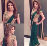Stunning Green Saree