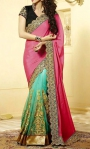 Ava Green Saree