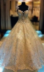 Grand Shimmering Gown