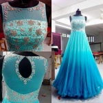 Sky Blue Gown