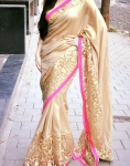 Gold Glaze saree