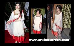 Prachi white Belle suit
