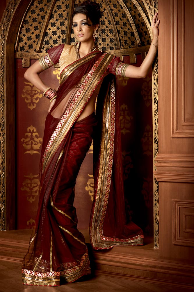 code a16 golden collections dinner sarees
