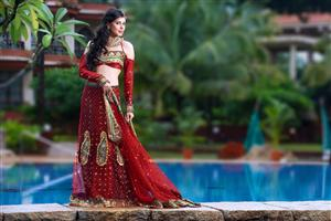 RED Queen Lengha
