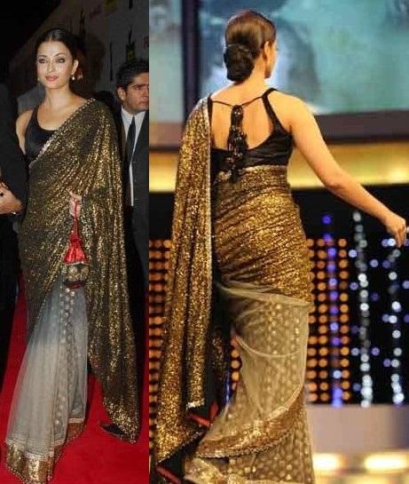 Aish Gold Dazz - Celebrity Sarees Sabyasachi Bridal Collection Price Range